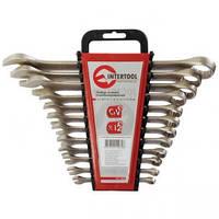 Набор комбинированных ключей Intertool HT-1203 6-22 мм, 12 ед, Cr-V