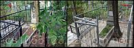 Покраска оградки, памятника на местах захоронений в г. Кривой Рог