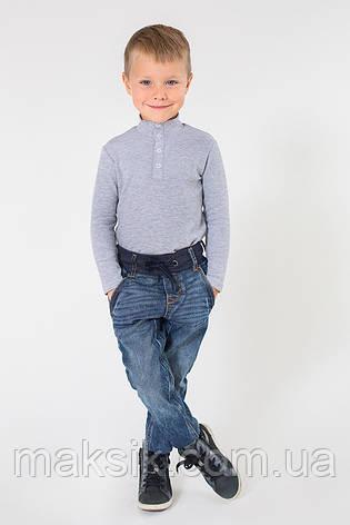 Детский гольф серый р.92-134см, фото 2