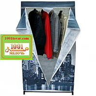 "Тканевый шкаф гардероб ""City New York"""