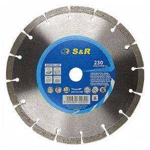 Диск алмазный сегментный по армированному бетону S&R Meister 230x22,2