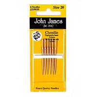 Набор игл для вышивки лентами John James (Англия) / Chenille №14 (2шт)