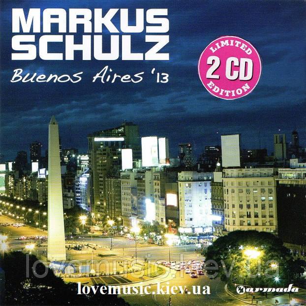 Музичний сд диск MARKUS SCHULZ Buenos Aires '13 (2013) (audio cd)
