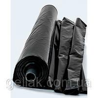 Пленка черная 60 мкм (3 м х 100 мп) рукав 1,5 м, фото 2