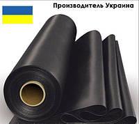Пленка черная полиэтиленовая 120 мкм (для мульчирования,строительства ) 1,5 м рукав 3 м в развороте