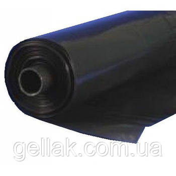 """Пленка черная полиэтиленовая 80 мкм """"Союз"""" (6м*50 мп) 23 кг высший сорт"""