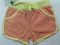 Шорты трикотажные для девочек, размеры 122, арт. GRT-4966, фото 1