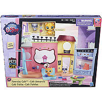Игровой набор Hasbro LPS B5479 Littlest Pet Shop Кафе Pawristas Cafe