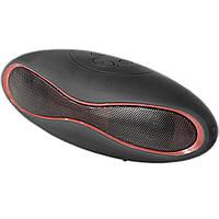 Колонка Lesko BL mini-X6 черная для телефона смартфона Bluetooth музыка MP3 портативная звук спикер динамик