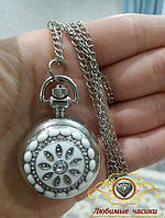 """Часы карманные на цепочке """"Алмазная мода""""."""