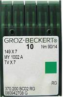 Голка Groz-Beckert 149x7, MY1002A, TVx7 для ланцюгового стібка 10 шт/уп