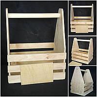 Ящик из дерева для декора, ручная работа,  25х19х30 см., 160/140 (цена за 1 шт. + 20 гр.)
