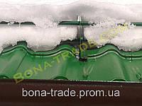 Металлический снегозадержатель для крыши