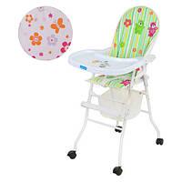 Детский стульчик для кормления М 0406