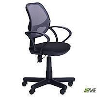 Кресло Чат/АМФ-4 сиденье А-1/спинка Сетка серая, фото 1