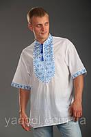 Мужская вышиванка летняя. Великолепный пошив, дизайн , вышивка.