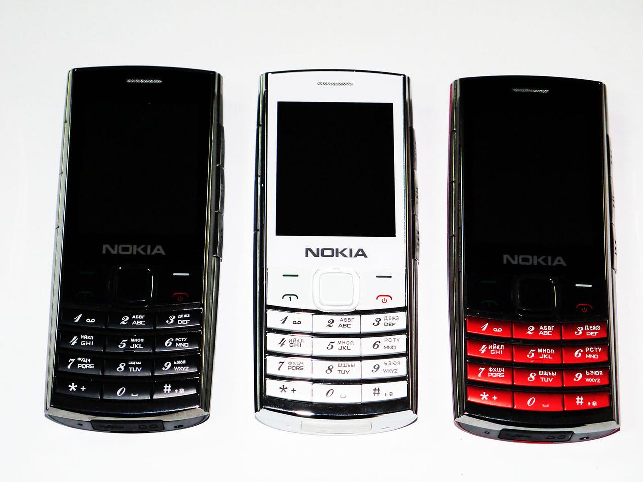 Nokia X2-00 3SIM - стильный дизайн