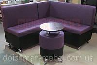 Кухонный уголок с кофейным столиком