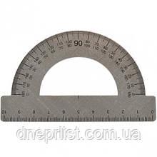 Транспортир металлический, 10 см