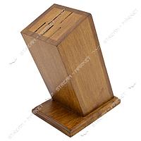 Одставка для ножей деревянная 5 отверстий 21см