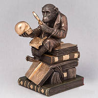 "Необычная статуэтка ""Обезьяна Дарвина"" 17 см в подарок за победу в олимпиаде"