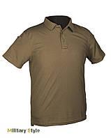 Тактическая футболка-поло (Olive)