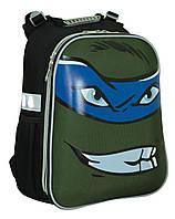 """Каркасный школьный рюкзак """"Yes"""" H-12 Turtles face"""