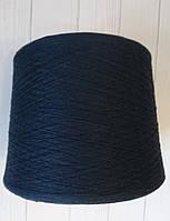 Хлопок с мериносом Filidea col 8841 Navy 85 хлопка, 15 меринос 900 м темно-синий