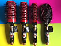 Расческа, щетка для сушки и укладки  волос феномOlivia Garden Love Thermal OGBLVPD, 4 шт. Браш, брашинг.