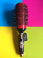 Расческа, щетка для укладки и сушки волос феном Olivia Garden Love Thermal. Браш 56 мм. Брашинг 56 мм.