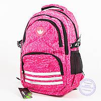 Оптом спортивный рюкзак Adidas - розовый - 8219