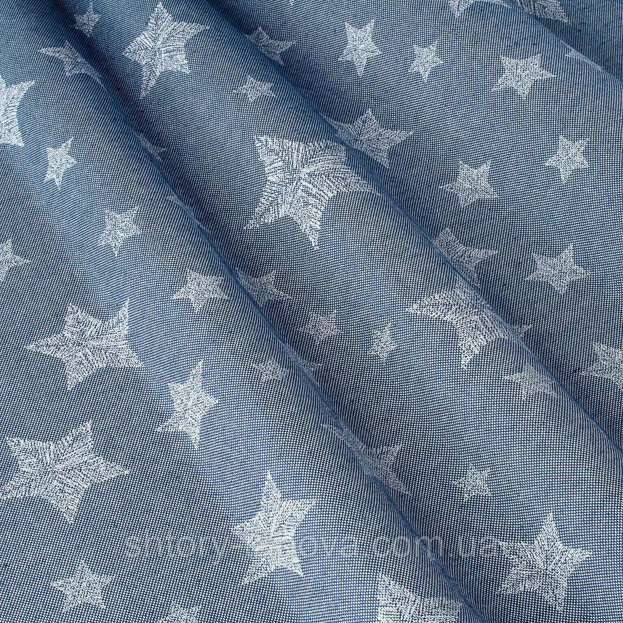 Декоративная ткань с принтом звезды
