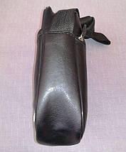 Сумка мужская через плечо черная из искусственной кожи, Nike, фото 3