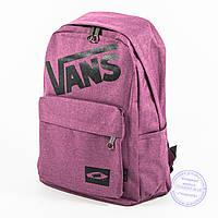 Оптом спортивный рюкзак Vans - сиреневый - 184