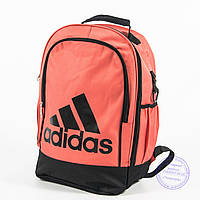 Оптом спортивный рюкзак для ноутбука Адидас - персиковый - adi-2