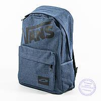Оптом городской рюкзак Vans - синий - 184