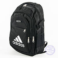 Оптом спортивный рюкзак Адидас - черный - adi-3