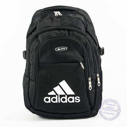Оптом спортивный рюкзак Адидас - черный - adi-3, фото 2