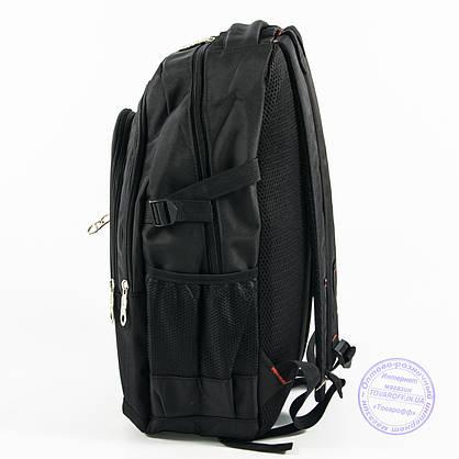 Оптом спортивный рюкзак Адидас - черный - adi-3, фото 3