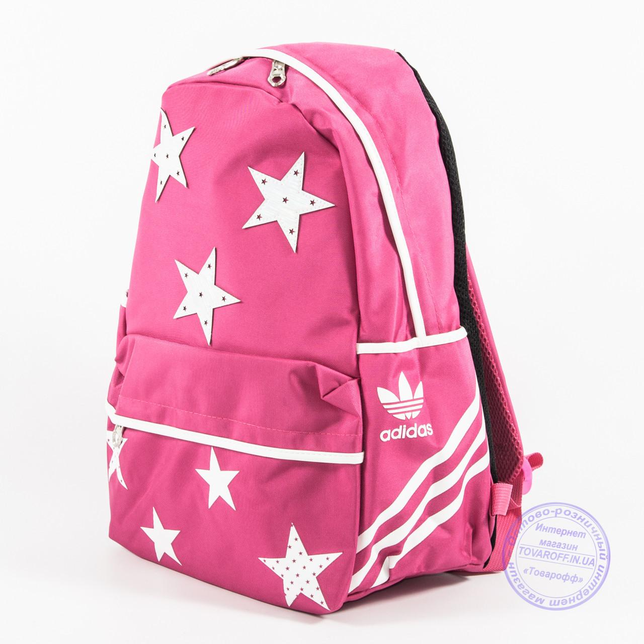 Оптом спортивный рюкзак Adidas - розовый - 2036