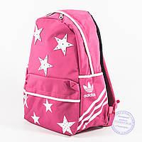 Оптом спортивный рюкзак Adidas - розовый - 2036, фото 1