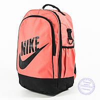 Оптом спортивный рюкзак для ноутбука Nike - персиковый - nik-1