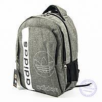 Оптом спортивный рюкзак Адидас - с. серый - 963, фото 1