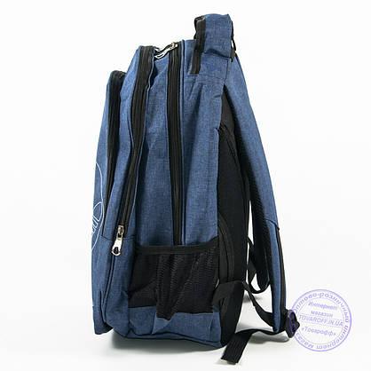Оптом спортивный рюкзак Адидас - синий - 963, фото 3