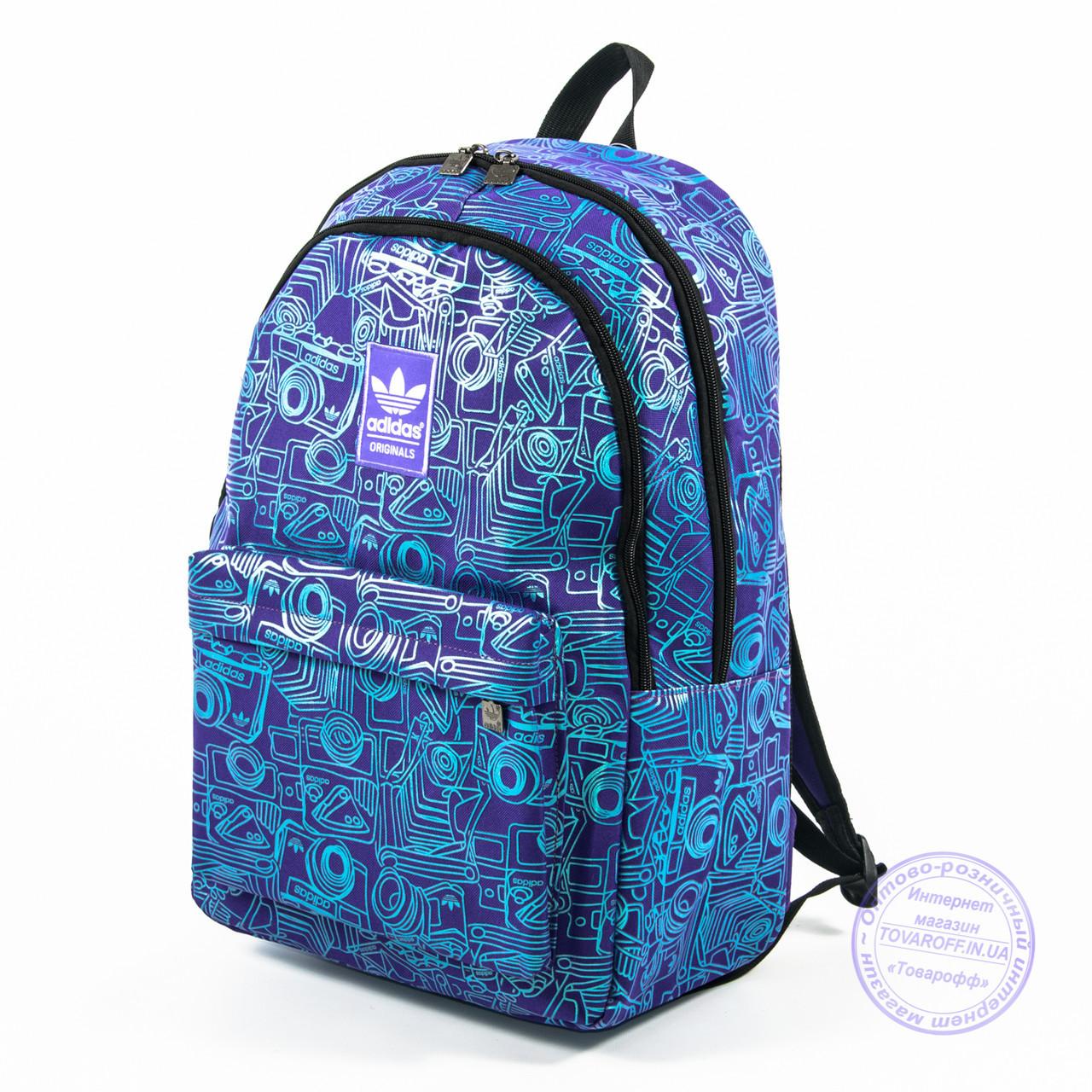 c30bb8af508d Оптом спортивный рюкзак Adidas - сиреневый - 605 - купить по лучшей ...