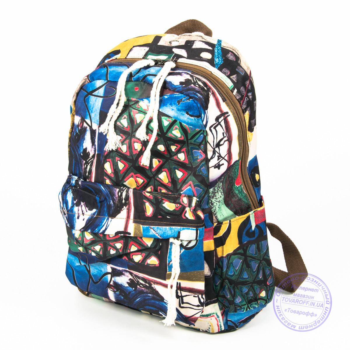 Оптом стильный рюкзак небольшого формата - 024