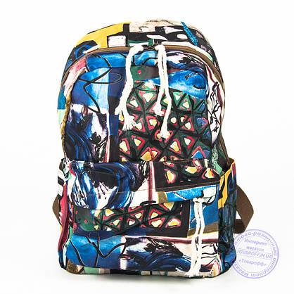 Оптом стильный рюкзак небольшого формата - 024, фото 2