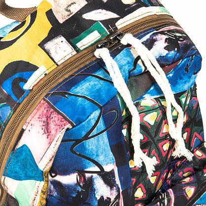 Оптом стильный рюкзак небольшого формата - 024, фото 3