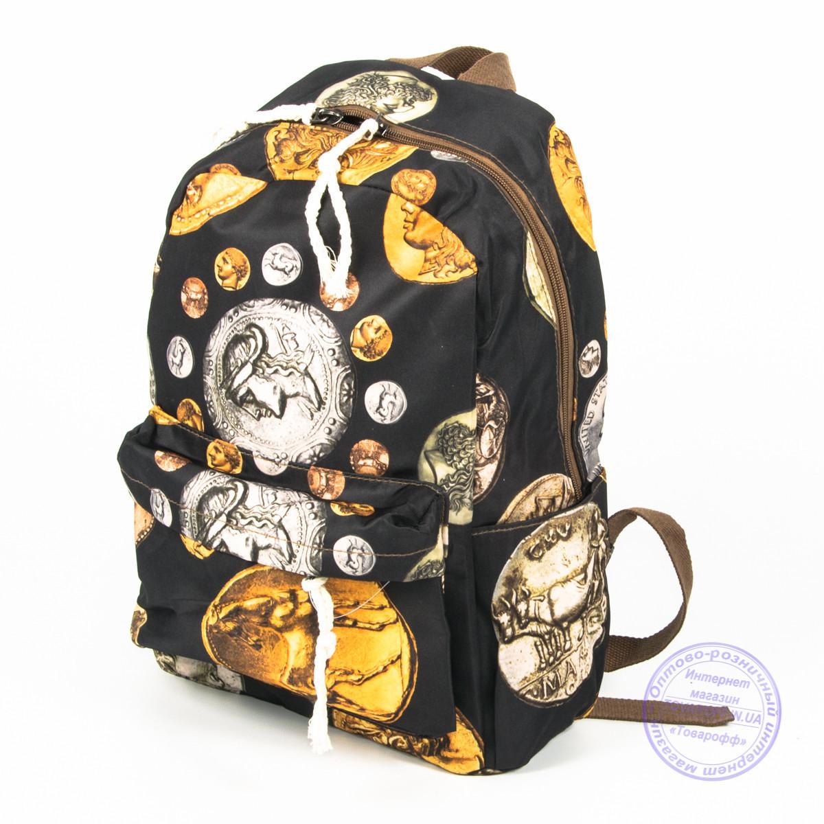 Оптом городской рюкзак небольшого формата - 024