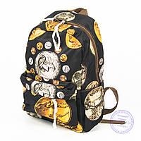 Оптом городской рюкзак небольшого формата - 024, фото 1